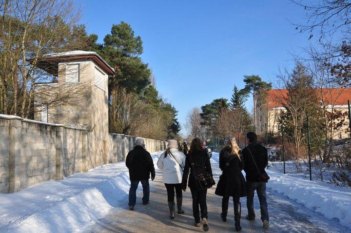Entrando al Campo de Sachsenhausen