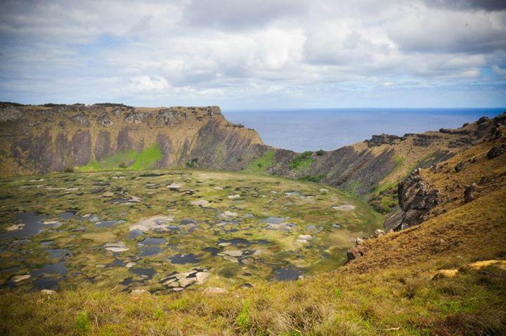 crater orongo isla de pascua