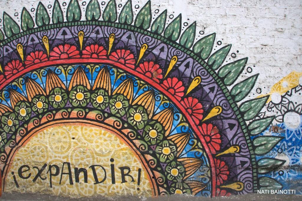 mural en vilcabamba expandir