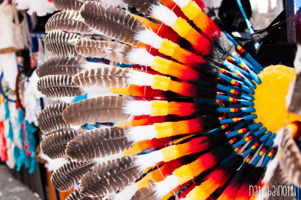 vincha multicolor mercado indigena artesanal otavalo