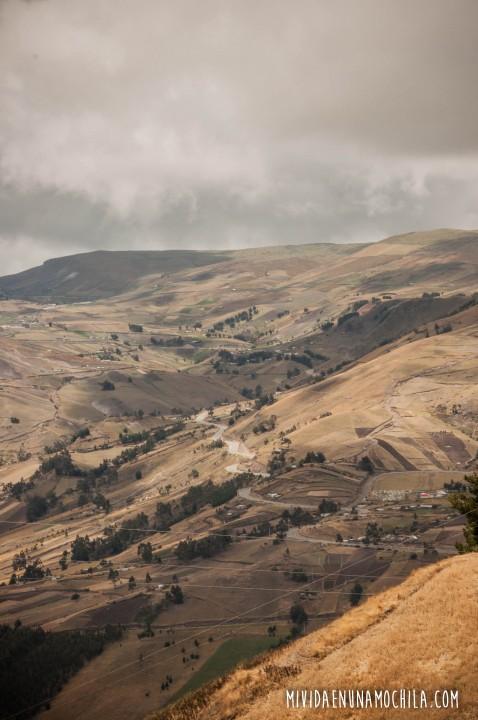 ruta sierras ecuador