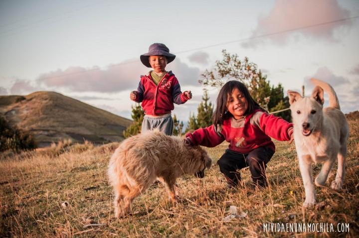 nenes comunidad ecuador