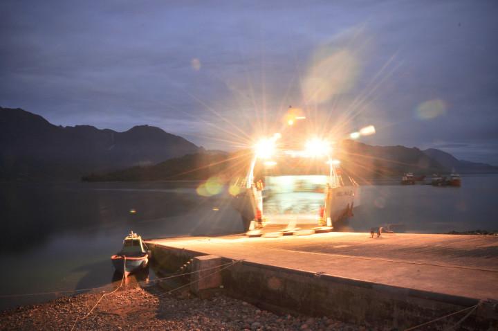 ferry hornopiren
