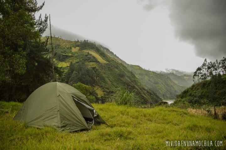 camping libre baños