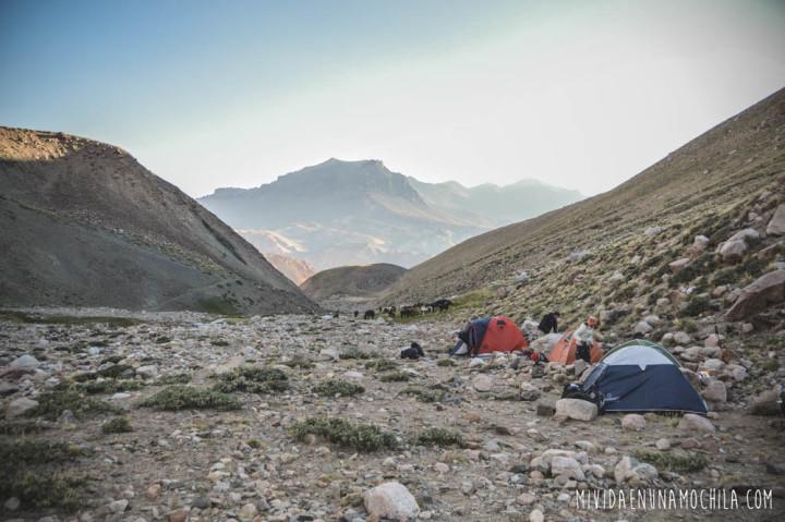 camping río la olla