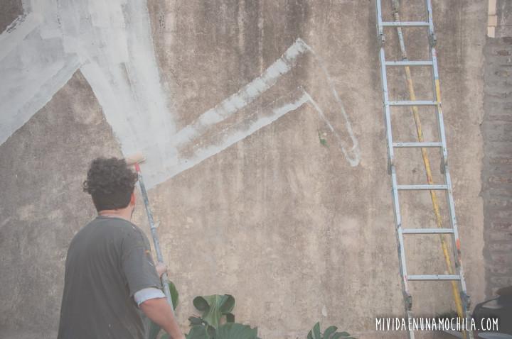 emepece pintando