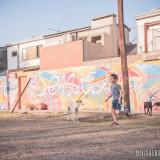mural rafaela proyecto calco 5 paises 5 murales mi vida en una mochila