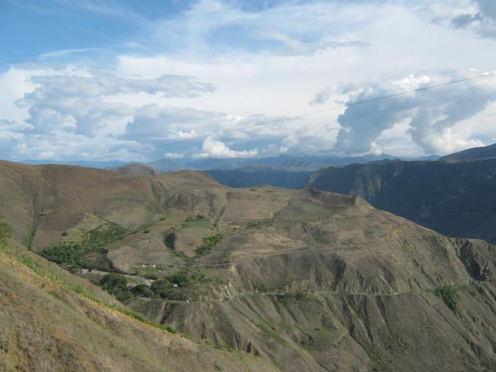 caminos montaña colombia