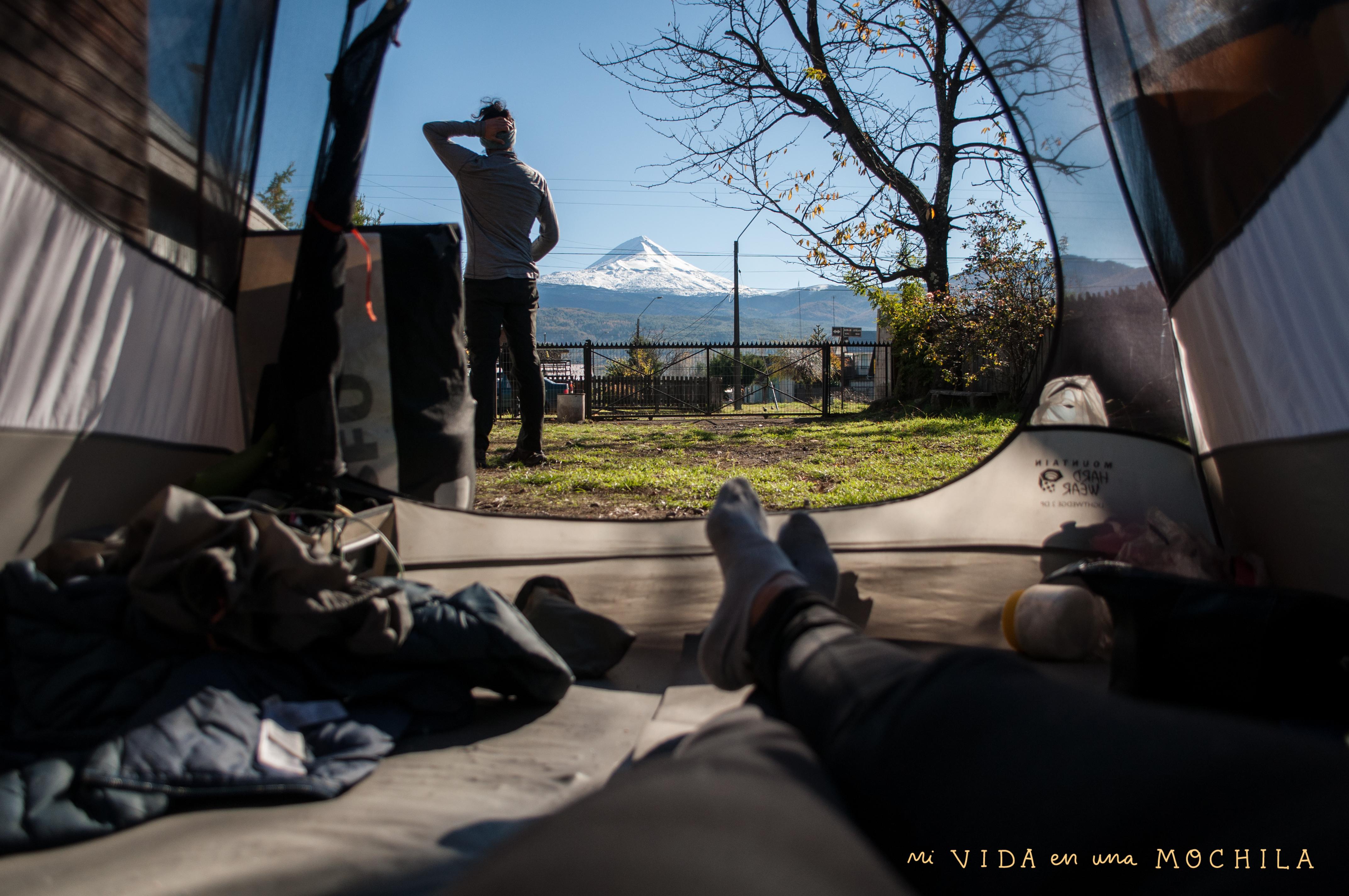 camping casa de familia chile