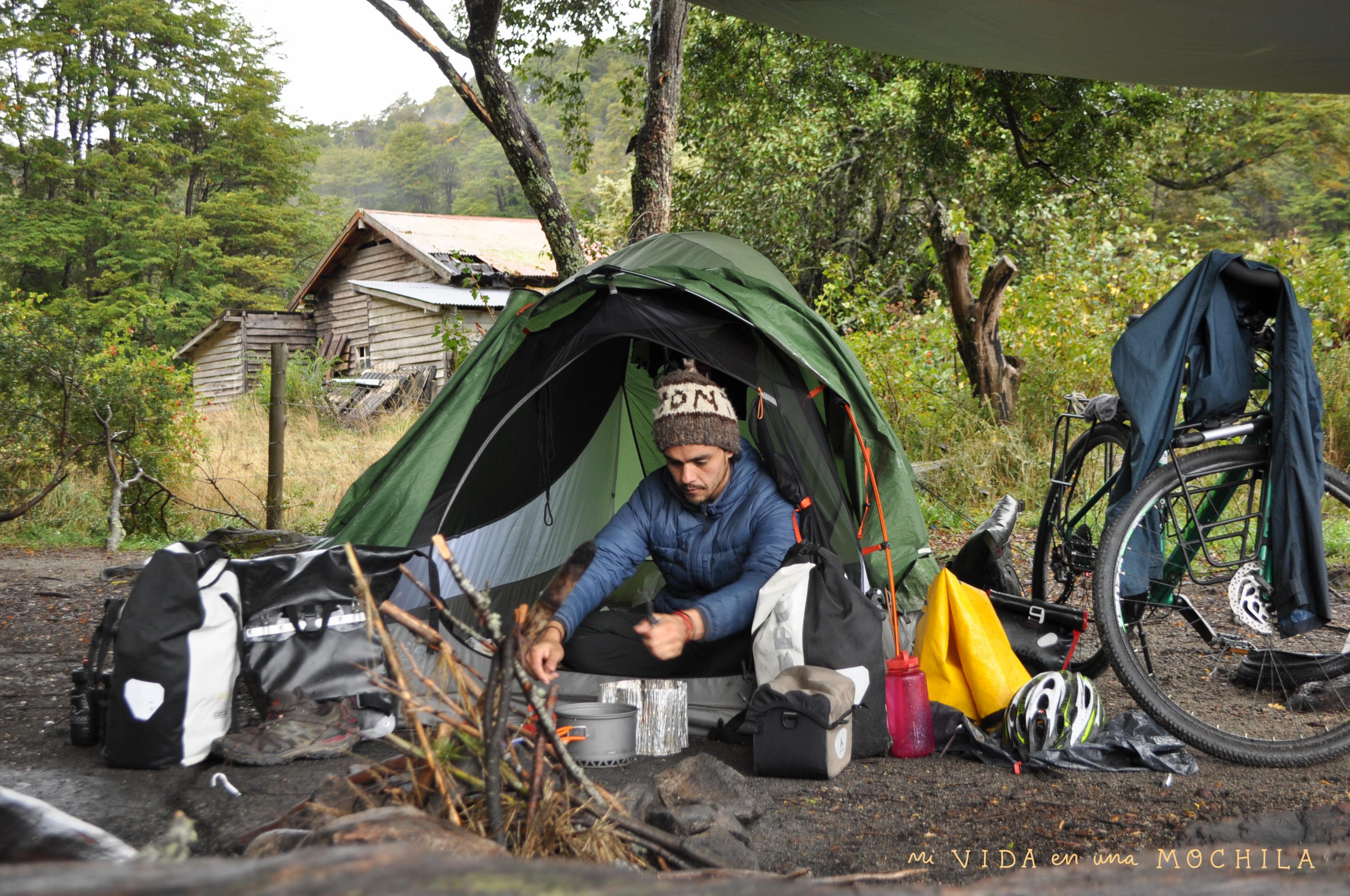 camping lago espejo