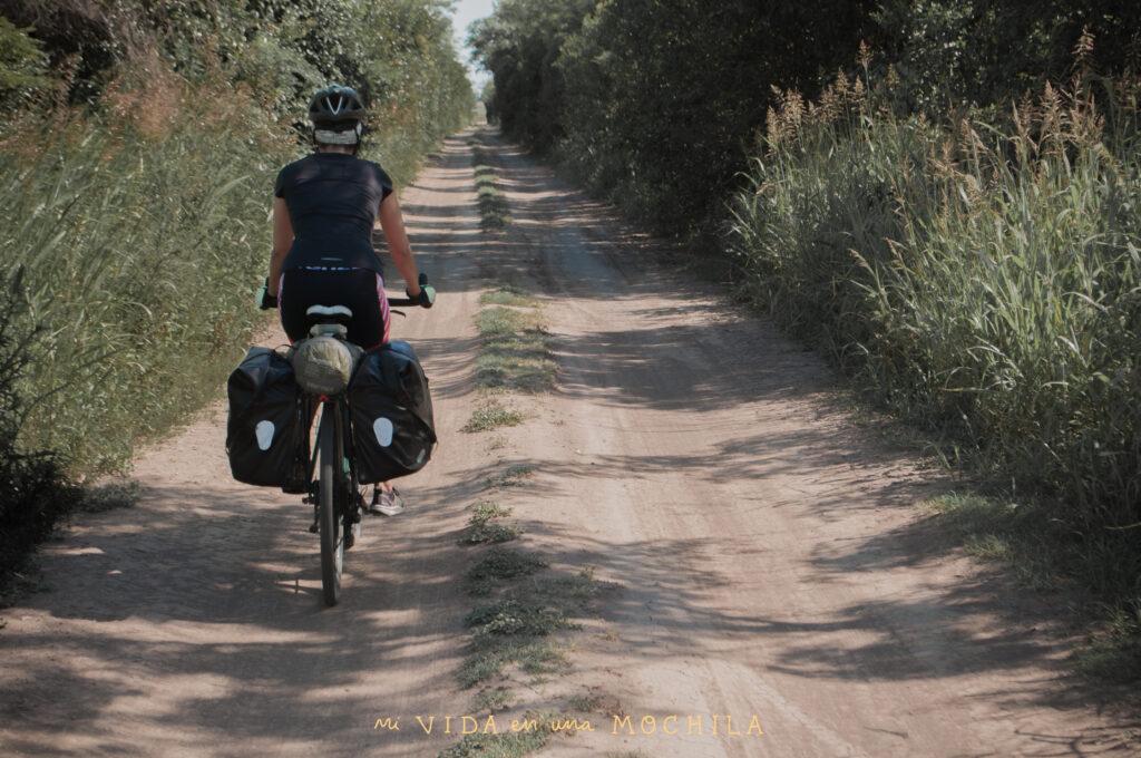 escapada en bici al campo