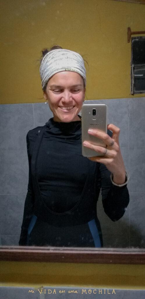 vestirse para con en capas para viajar en bici cuando hace frío
